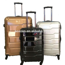 high quality abs pc hard shell vip travel luggage