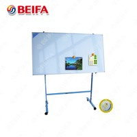 made in china white board with stand,sliding white board