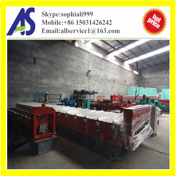 High quality roof and wall panel roll forming machine