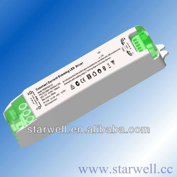 DALI dimmable led driver compatible with 0-10V dimming and PWM dimming function 25-42V 0~700mA