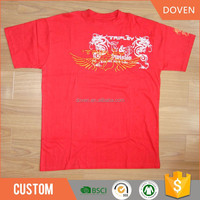 wholesale oem pantone color embroidered t-shirts in china