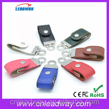 hottest best quality cheapest leather usb flash drive,embossed logo flash memory,16gb 32gb 64gb usb stick