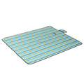 eco friendly reusable stripe pattern oxford beach mat