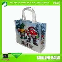 Christmas shopping bags for M&M
