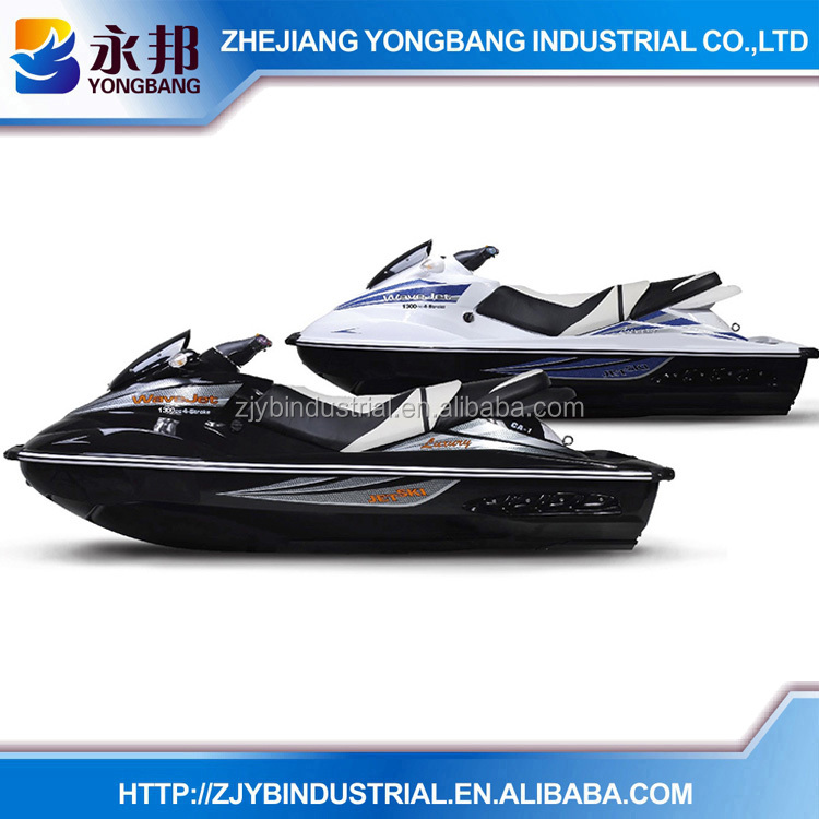 SUZUKI Engine YONGBANG Jetski Black Color YB-CA-1 1300CC 2 person Mini Cheap Suzuki Engine Jet Ski