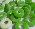 Vitamin C ring shape gummy candy