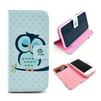 Customized Printing Card Holder Wallet Leather Mobile Phone Case For Alcatel Ot 4035d