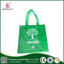 Newest selling excellent quality printed pattern custom folding shopping tote bag