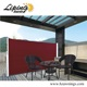 Aluminium Retractable Windproof Side Awning