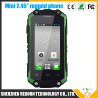 Cheap OEM 2.45'' Mini Smart Cell Phone / IP65 Waterproof Android Phone