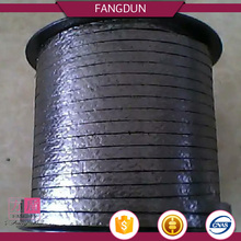 China good graphite packing reinforced with metal wire