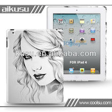 Sketch Beauty Series!! for ipad4 cover case high quality