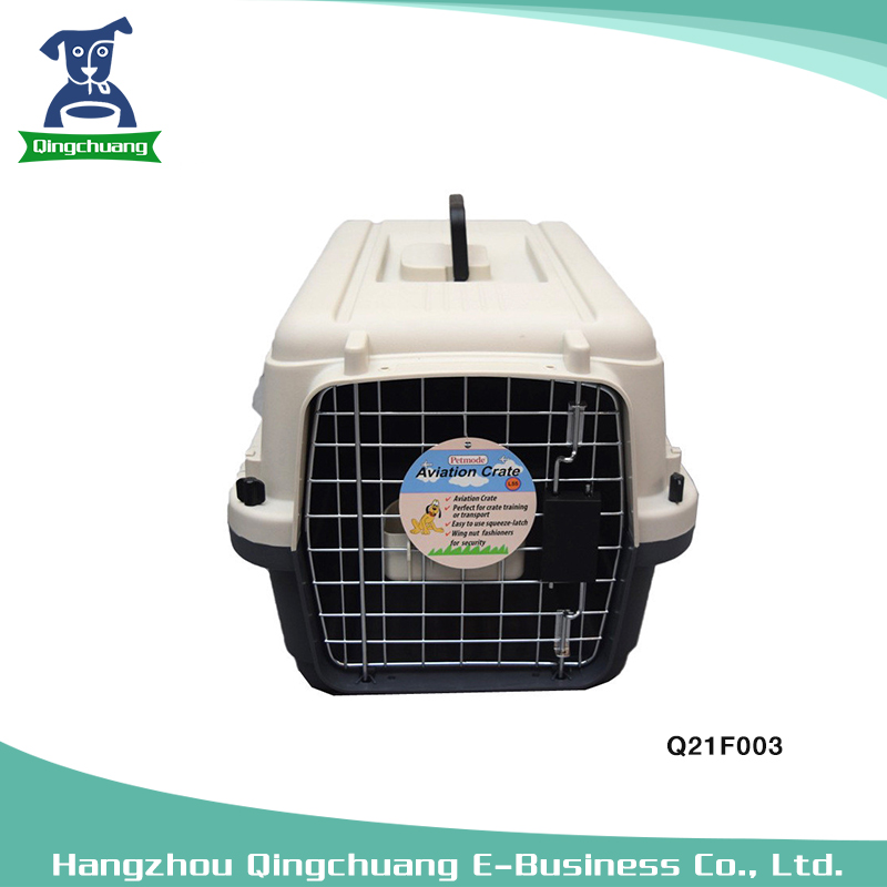 L60 Size Convenient Pet Air Box Dog Cat Plane Cage