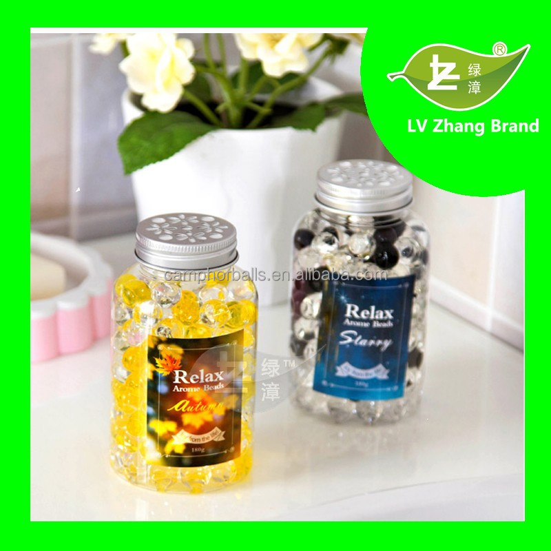 2017 New Design Gel Crystal Beads Air Freshener Scented