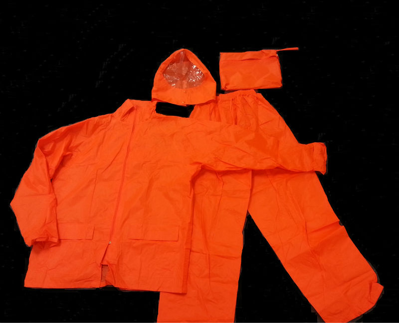Safety industrial raincoat