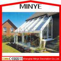 Glass sun rooms/glass sunroom/aluminum extrusion sunroom