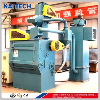 Q326 ruber belt shot blasting machine for surface cleaning, removing rust