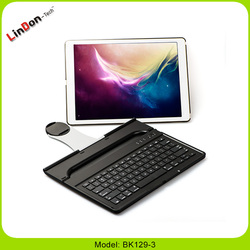 "High Quality 360 Degree Rotate Wireless Bluetooth Keyboard Case For iPad Pro 12.9"" Tablet PC"