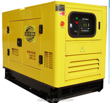 100kw water cooled diesel engine high power brushless electric generator