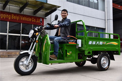 2016 beautiful High Quality 150cc light load cargo three wheel motorcycle Trike On Sale