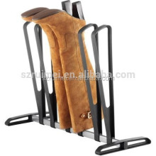 Hot floor standing metal boot rack