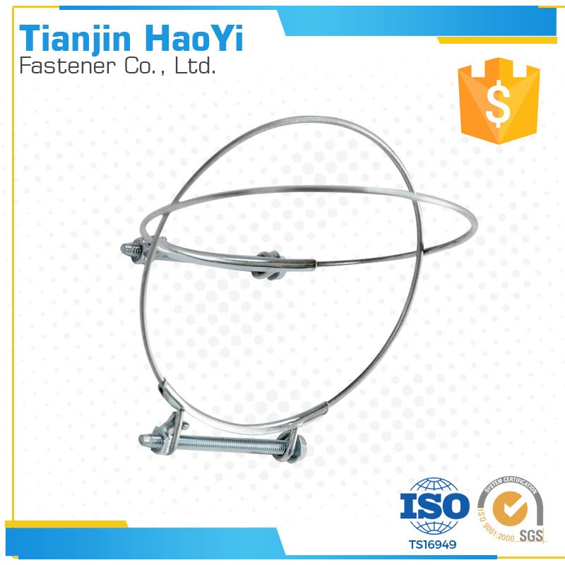 Strain Clamp Structure pole wire electric cable clamps