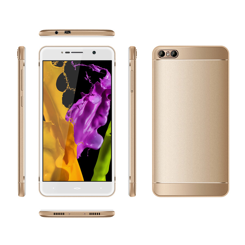 New China Smartphone 8MP Camera 5.2inch HD quad core Android 6.0 OTG OEM Service mobile phone