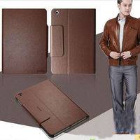 real leather case for Apple ipad 2/3/4/mini pure leather flip case luxury cover