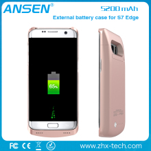 android mobile phone trending hot products 2017 power charger battery case for Samsung S7 edge