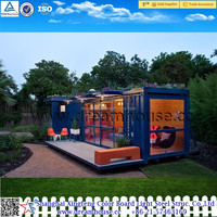 CE/ISO certification modern desing shipping container house/40FT high quality sea container living villa