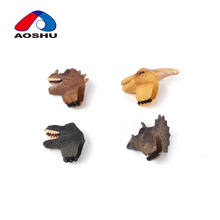 Hot selling soft kids dinosaur animal plastic ring toy for wholesale