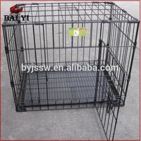 metal dog transport cage with wheels,breeding cage dog