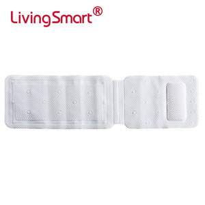 Luxury Spa foam Pillow Bathtub Mat with Large Non Slip Suction Cups