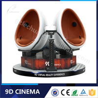 Rich Virtual Reality Experience 9d Vr Egg Cinema 9d Simulator with 9D Stimulator Games