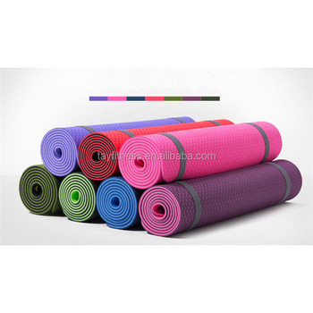 China suppliers gym fitness home exercise TPE yoga mat