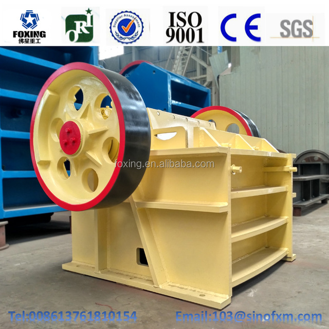 China Mining Industrial used jaw crusher supplier