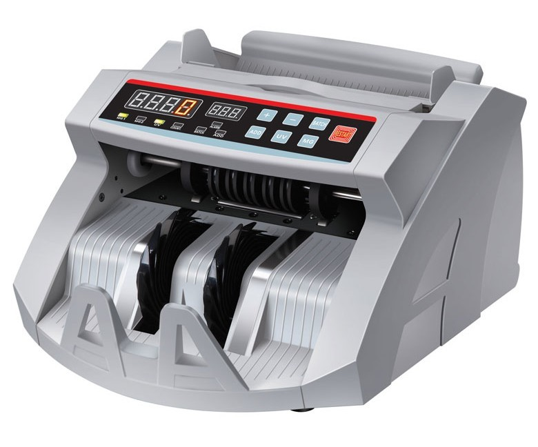 bill counter/money counter with UV & MG--2108