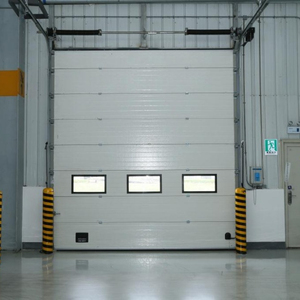 High Quality Finished Surface Automatic Industrial Sectional Doors