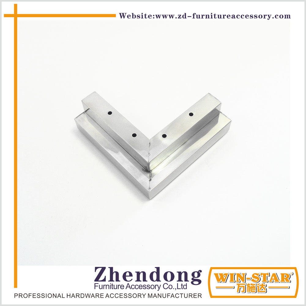 Stainless steel leg for sofa manufacture hardware
