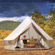Mongolian Yurts Outdoor Hotel Indian Luxury 8-10 person Bell Tent