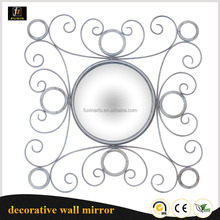 Latest bathroom wall mirror silver framed metal mirrors with MDF frame