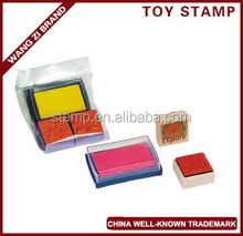Chillden's toy stamp set, China well-knowntrademark, made of wood