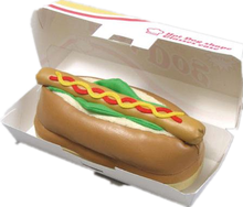 Disposable Recycle Decorative Food Paer Packaging Hot Dog Box