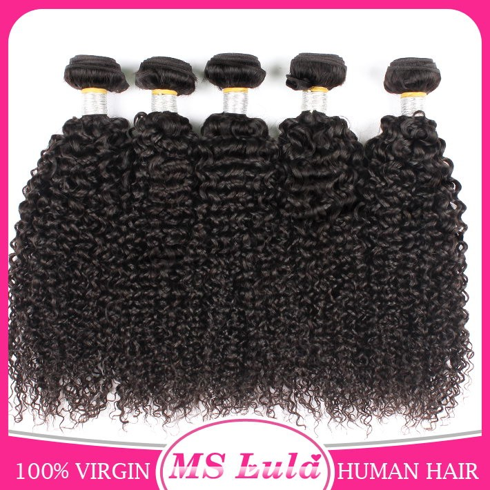 Ms Lula hair aliexpress virgin mongolian kinky curly hair for young girl