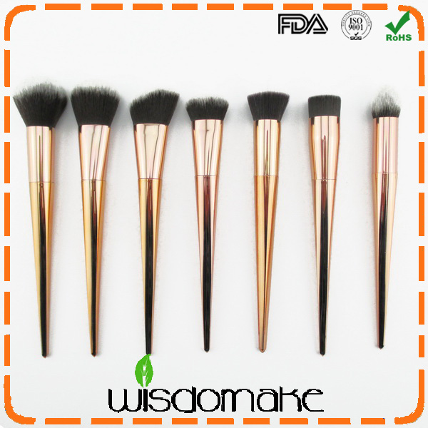 Wisdomake Professional Soft Cosmetic Makeup Brush Set Kit + Pouch Bag Case Woman's 15 Pcs Make Up Tools Pincel Maquiagem