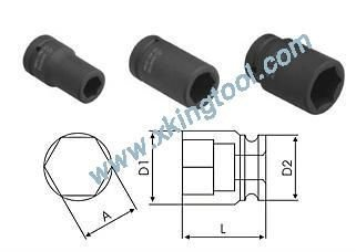 1 Inch Dr. Deep Impact Sockets