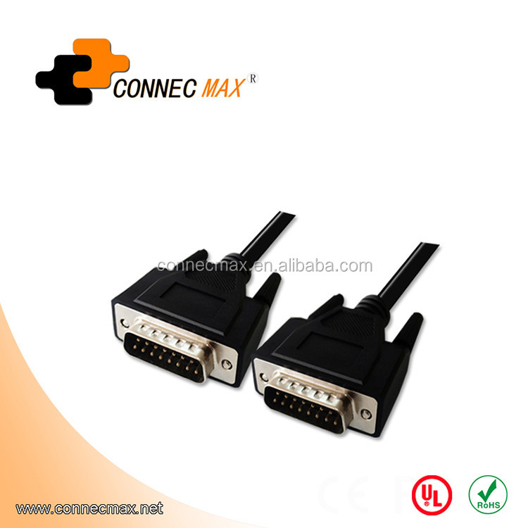 D-sub 15 pin DB15 M/M cable