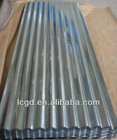 full hard or soft hard cold rolled zinc coated hot dipped corrugated steel sheet