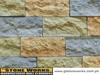 MANUFACTURED STONE WALL CLADDING - SANDSTONE Vermillion