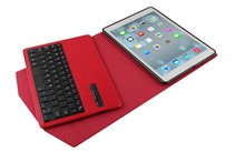 New Hot-selling Ultrathin Wireless Blue Tooth Keyboard Stand Case Cover for ipad air for Tablet Blue Tooth-IP205F